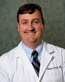 Dr. Mathew Sapp of Retina Specialists